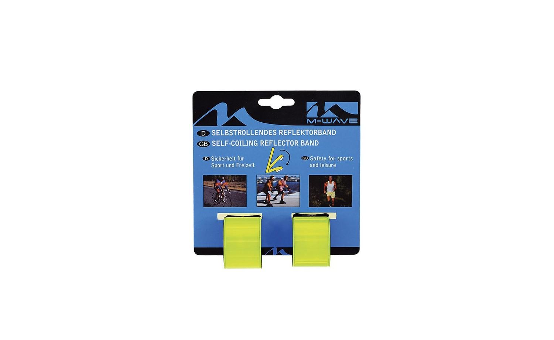 Samosvinovací reflexní pásek M-WAVE SnapWrap