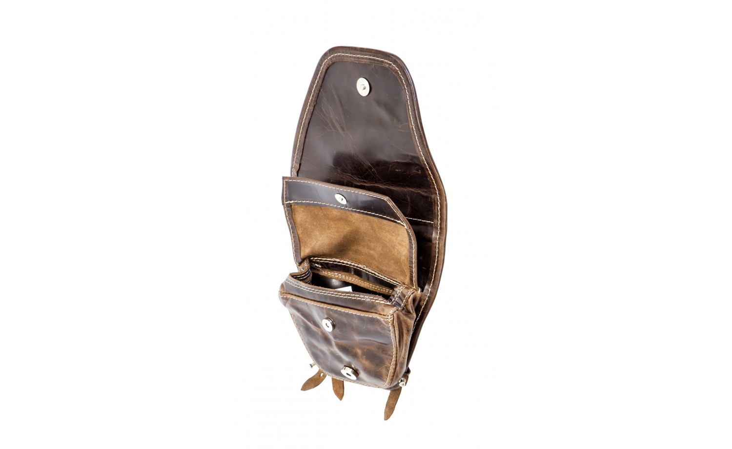 KOSTKA carrying bag with flap for BMX Handlebar (Leather)
