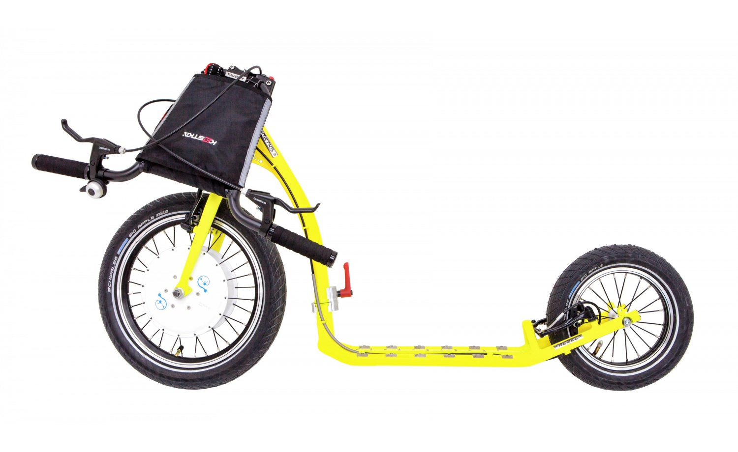 Foldable e-footbike KOSTKA e-REBEL MAX FOLD (E1)