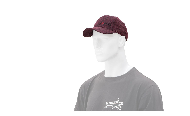 Strapback cap KOSTKA Melange red