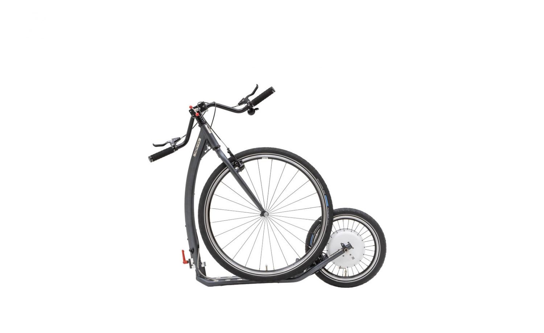 Foldable e-footbike KOSTKA e-TOUR MAX FOLD (E2)