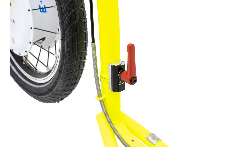 Foldable e-footbike KOSTKA e-REBEL MAX FOLD (E2)